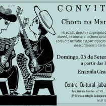 """Em São Paulo, """"Choro Nordestino"""", no Centro Cultural Jabaquara"""