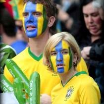 Brasileiros se empolgam, mas empate decepciona