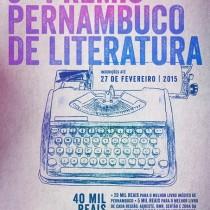 Escritores pernambucanos já podem se inscrever para o Prêmio Pernambuco de Literatura